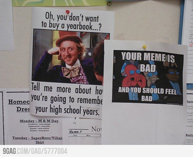 Funny Yearbook Promotion Ideas