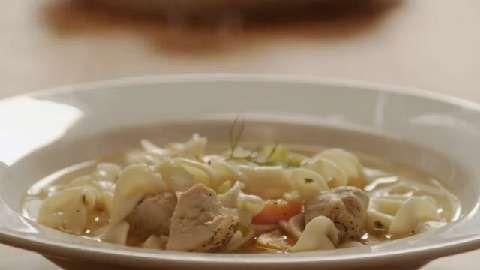Chicken Noodle Soup on Pinterest | Italian chicken soup, Noodle soups ...