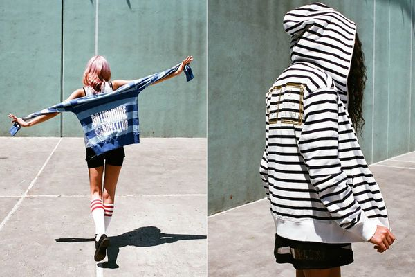Edgy Tomboy  The Billionaire Boys Club SS 2014 Makes Room for the Ladies (GALLERY)