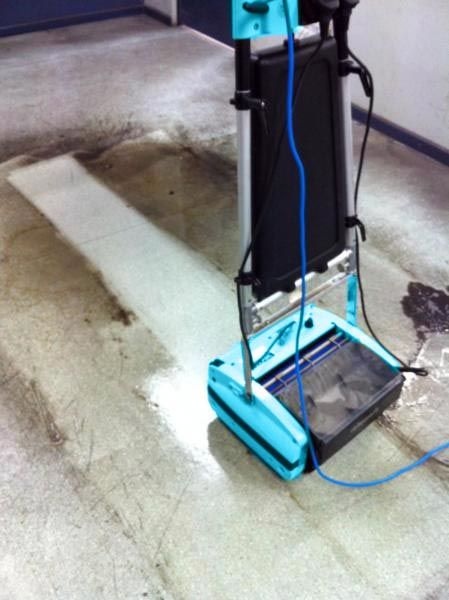 Rotowash Commercial And Residential Floor Scrubber Is Ideal For - Hard floor mopping machine