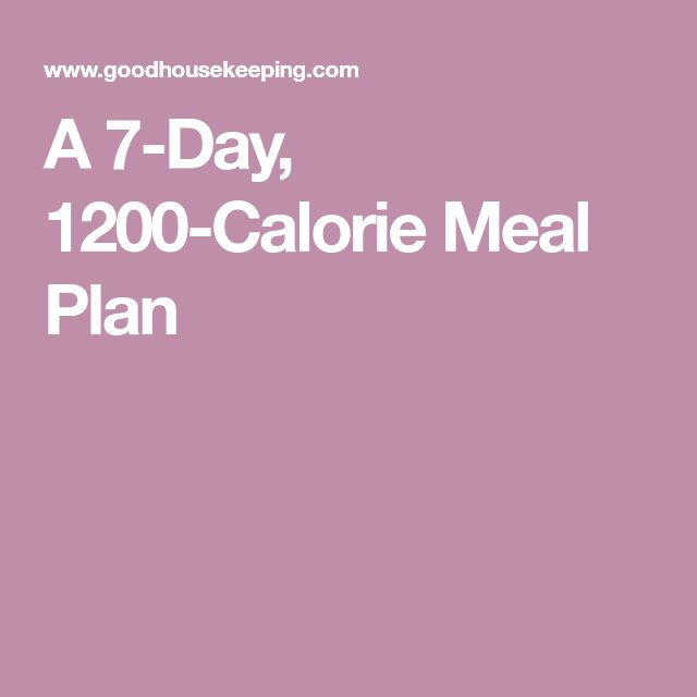 1200 calorie low carb meal plan pdf