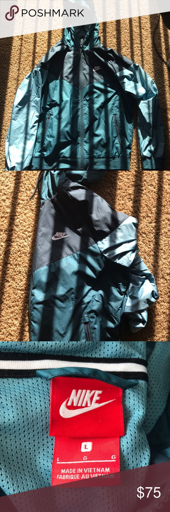 Nike windbreaker Never worn! Comes with tags. Beautiful colors can work with men's or womens Nike Jackets & Coats Windbreakers