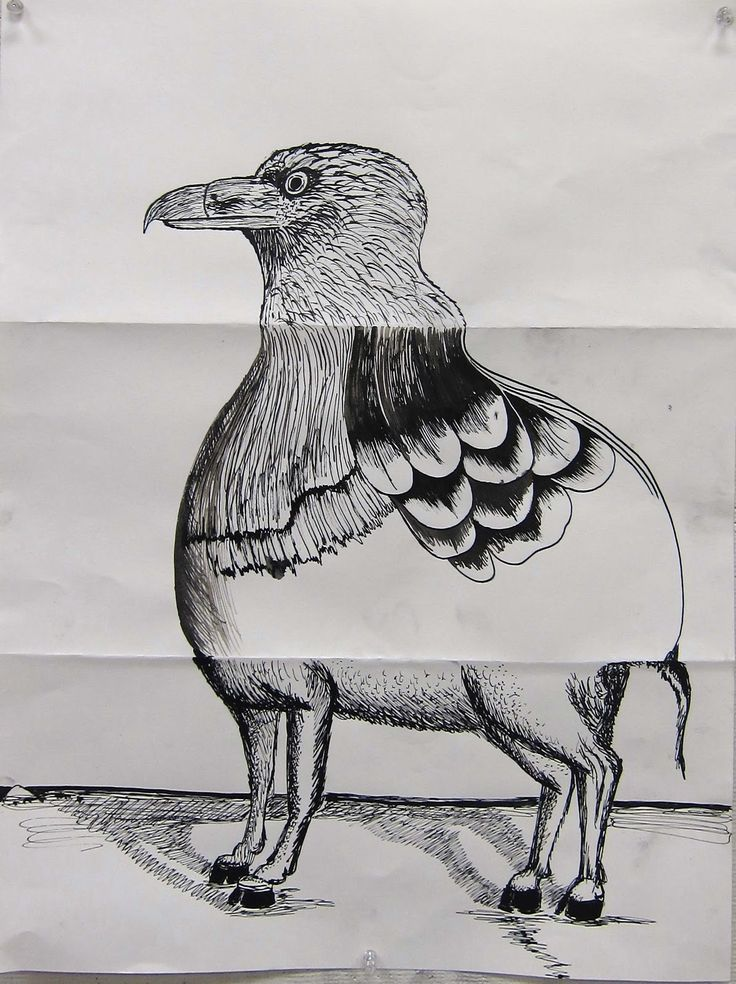 Art7A Beginning Drawing and Composition with William Smith: MON. 10/29 INK: The Exquisite Corpse