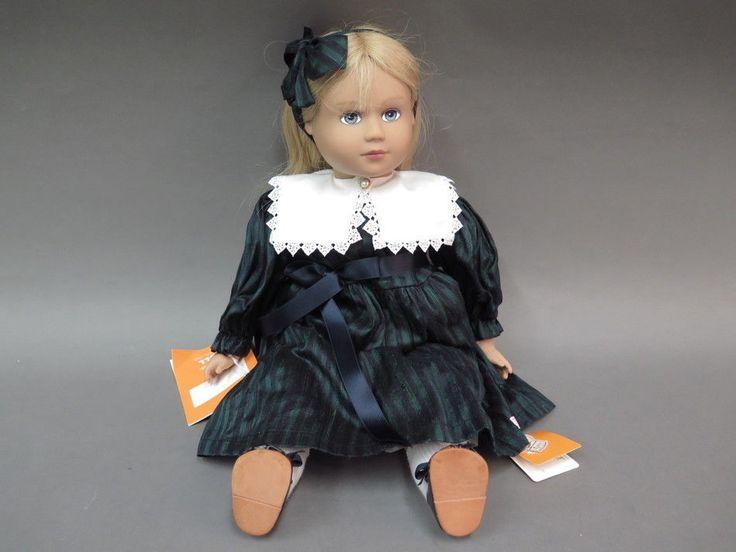 "German Sigikid Puppen 18"" Vinyl Doll Ines by Kristine Bohm NIB"