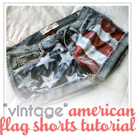 american flag shorts: Diy American Shorts, Diy Shorts, Style, Clothing, Fourth Of July, American Flags Shorts, 4Th Of July, American Flag Shorts, Vintage American Flags