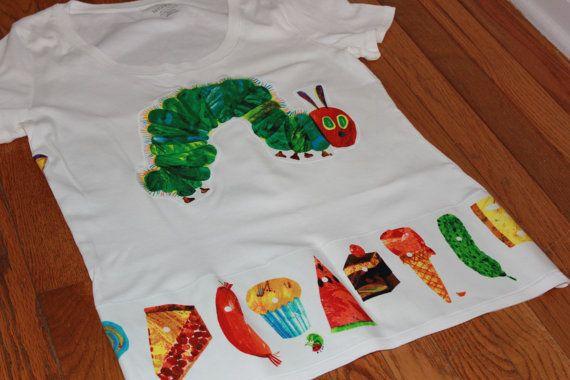 Adult size Very Hungry Caterpillar Short sleeve by CelebrationKids