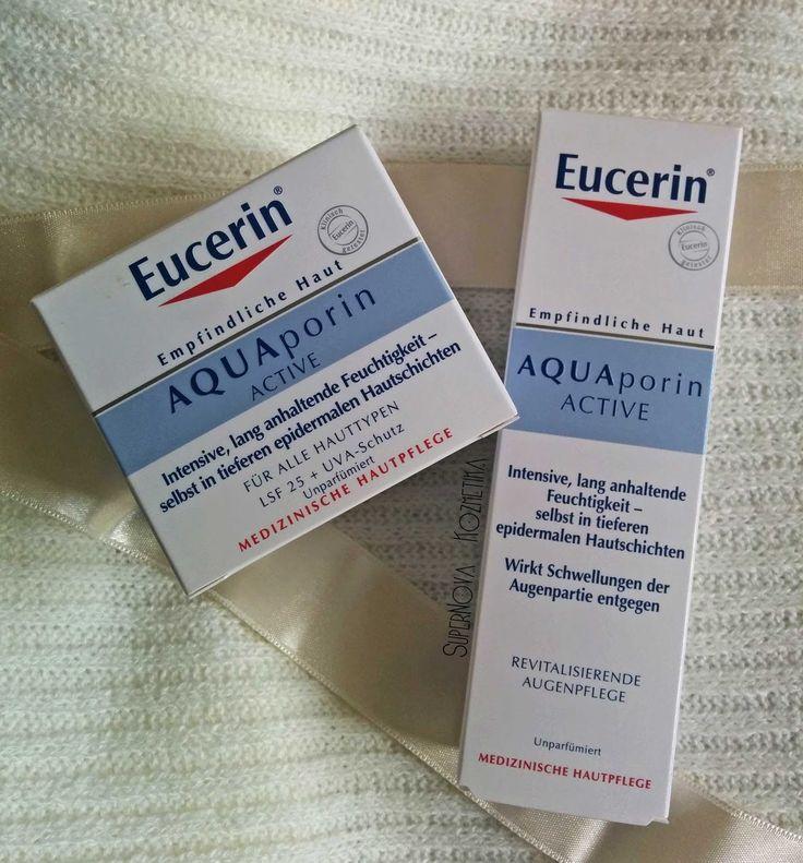 SuperNova Kozmetika: Eucerin AQUAporin ACTIVE - Day Cream & Eye Cream