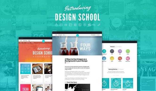 Canva.com: Aplikasi Desain Online gratis, Bergaya Metro minimalis ~ iDesigner