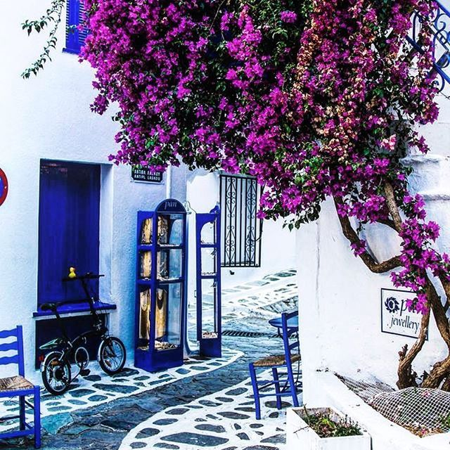 Take a walk , and refresh your mind! ♥️ #skiathos #island #greece