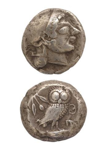 Tetradrachm Athens, 561-490 BC