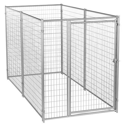Dog Kennel - Lucky Dog Modular Box Kennel - This Welded Animal Enclosure is Perfect for Medium to Large Dogs and Animals and is Designed with Their Safety and Comfort In Mind. Dimensions (6'H x 10'L x 5'W); 131 lbs Lucky Dog Professional Modular Kennels have pre-assembled panels making set-up quick and easy Read more http://dogpoundspot.com/dog-luxury-store-1973/ Visit http://dogpoundspot.com for more dog review products