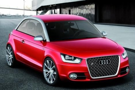 Move over BMW/mini-cooper, here's the new Audi A-1. As Audi continues to reach out to a more conservative demographic they will soon release the A1. While it still retails in the upper $20's it's a much more affordable entry into the awesome world of german cars. Despite it's cost effectiveness, the A-1 in no way lacks the sophistication or comfort of say an A4. If it weren't for the two door factor I could see it replacing our A3, but I swore never to return to a 2-door. It's tough to say…