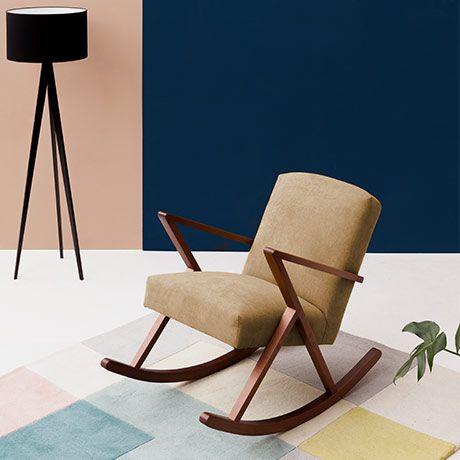 Short Rocking Chair - Beige by Sternzeit-Design #MONOQI