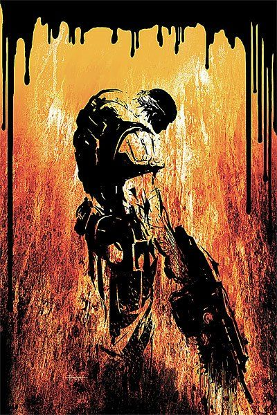This is a picture of the game called Gears Of War. Gears Of War is third-person shooter video game. And reason why I chose this picture is because I love Gears Of War so much. It is my favorite video game. When I was middle school, I was into this video game. I played this game with my friends everyday. And that's how it connect to my identity.