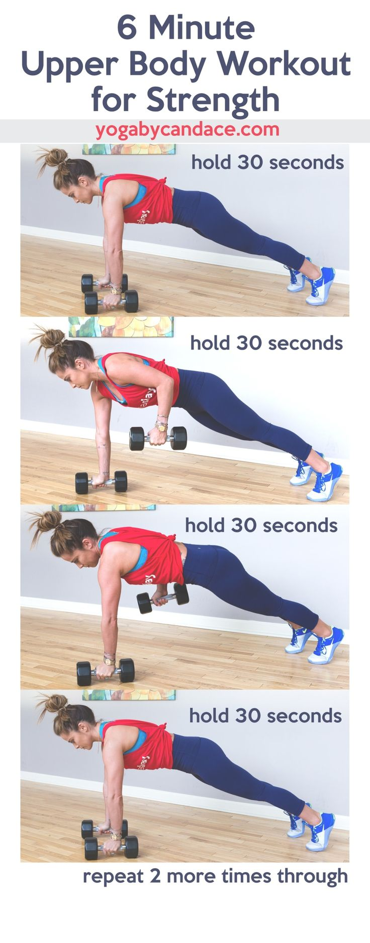 6 Minute Upper Body Workout for Strength and Qalo Functional Rings for the Gym — YOGABYCANDACE
