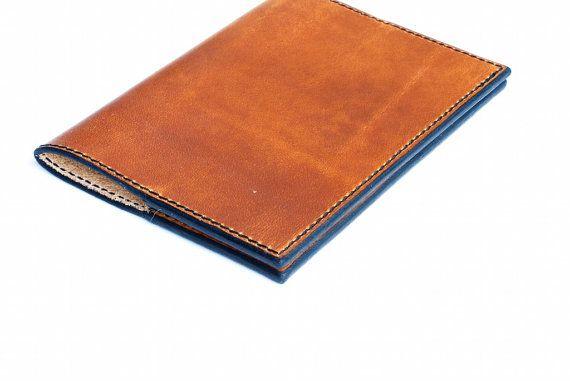 Passport Holder, Horween Leather Passport Holder, Personalized Passport Holder, Passport cover, Passport case, Passport Sleeve