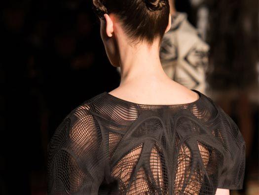 """""""Materialise"""" Dress by Iris van Herpen, 3d  printed"""