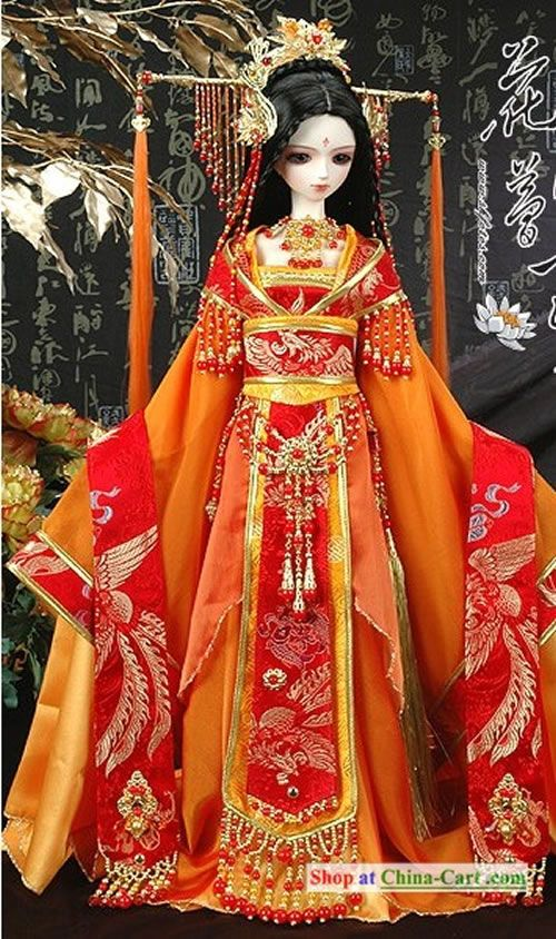 Ancient Chinese Princess Traditional Clothing Hair
