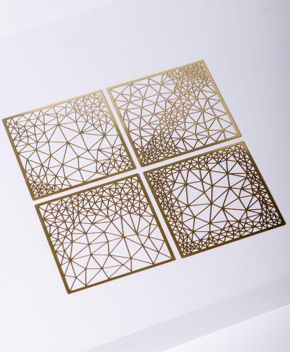 Conception paramétrique MIZYAN - accessoire de table en laiton-                                                                                                                                                                                 Plus