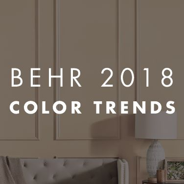 105 best behr 2018 color trends images on pinterest 2018 - Behr color of the year ...
