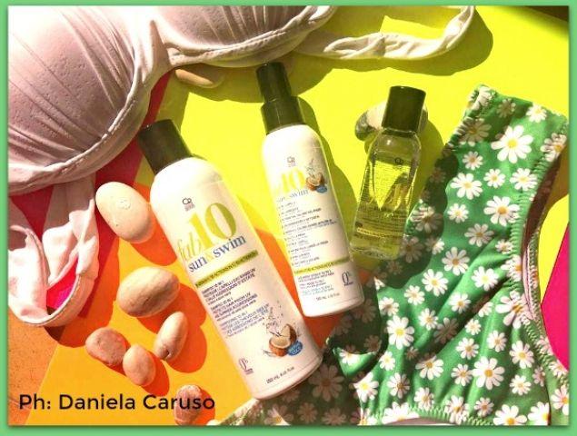 Fab10 Sun&Swim Shampoo e Maschera Spray, Elisir di Cheratina al Cocco 10 in 1+ CODICE SCONTO [REVIEW] @capellopoint