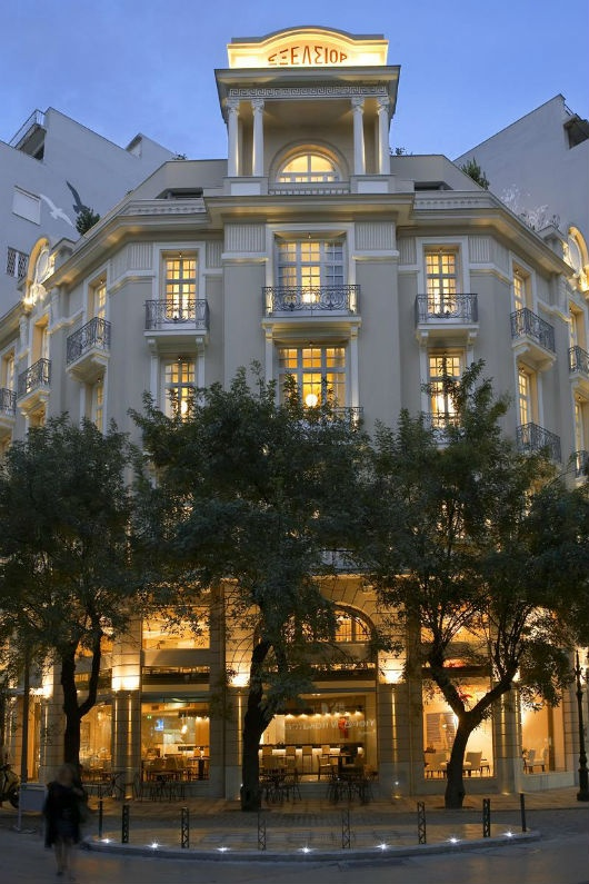 Hotel Excelsior in Thessaloniki, Greece.