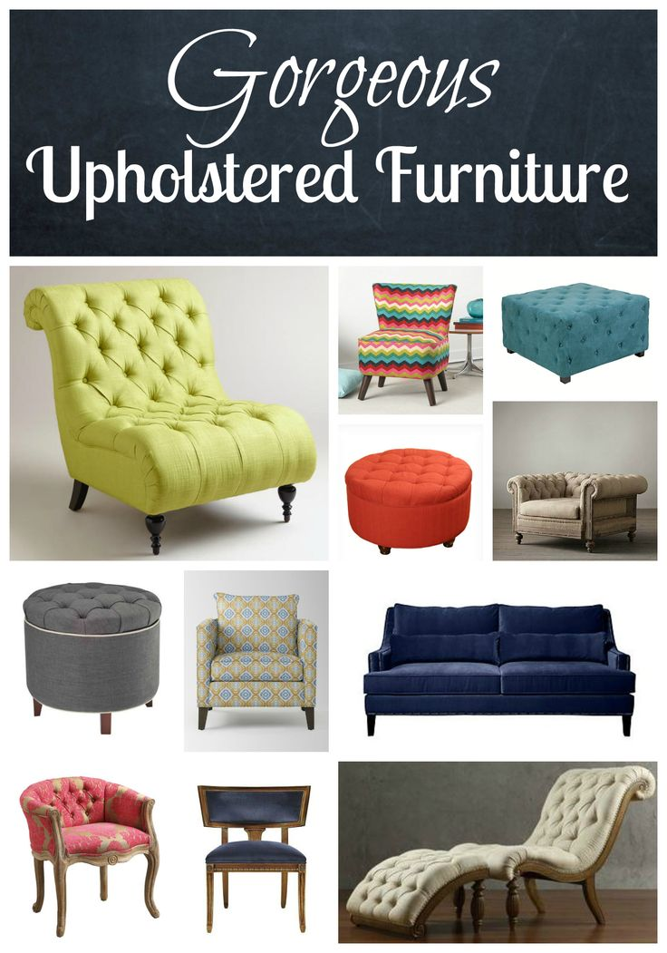 This Gorgeous Upholstered Furniture Will Knock You Off Your Feet! | The Mindful Shopper