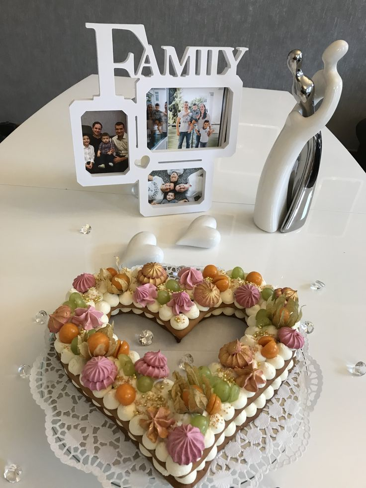 Trendy number cake/Zahlentorte elegant trend/ heart cake/ delicious/Herztorte/ neue Trends