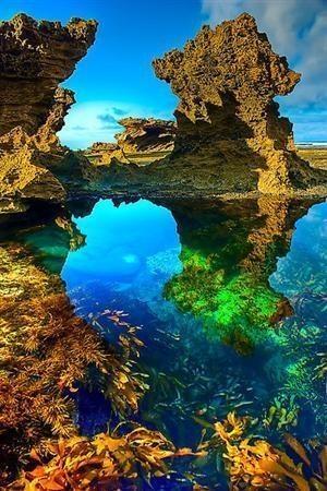 Twitter / Earth_Pics: Sorrento Back Beach, Australia. ...