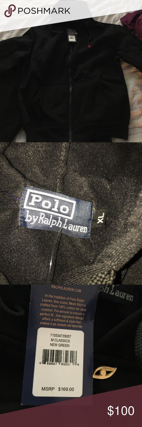 Polo female jogging suit xl Black Polo by Ralph Lauren Other