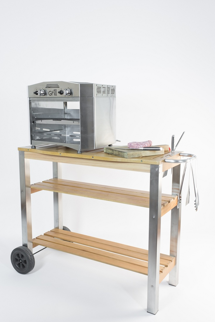 The outdoor trolley to make your #grilling experience the best everywhere www.wegrill.eu #wegrill