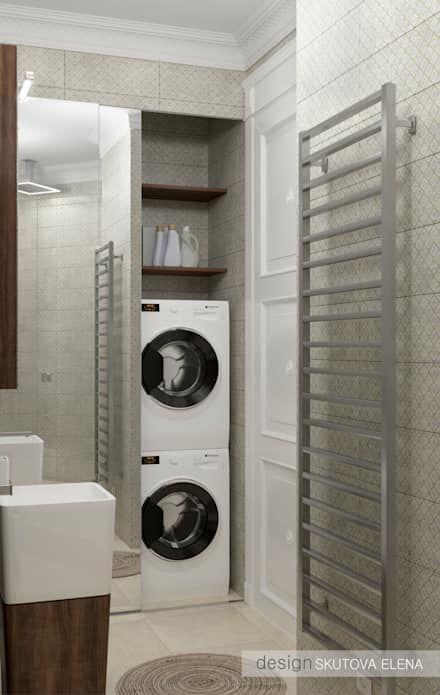 ELENA SKUTOVA : eklektik tarz tarz Banyo