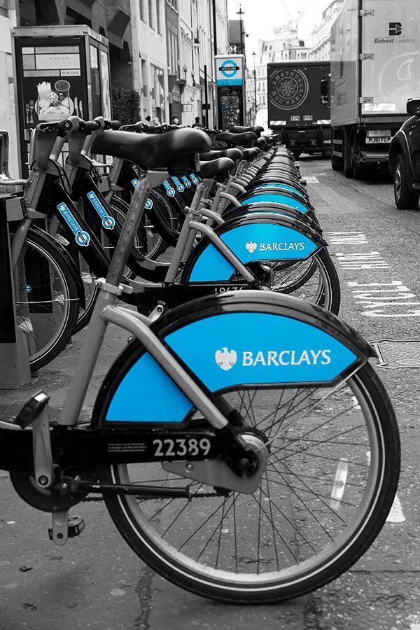 Urban London Boris' Bikes - Steve Middlehurst
