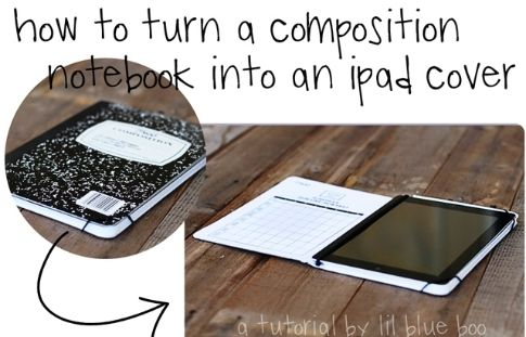 Retro composition books never looked so smart.
