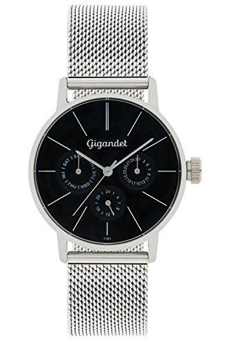 Gigandet Damen-Armbanduhr Minimalism Quarz Multifunktion Uhr Datum Analog Edelstahlarmband Schwarz Silber G38-006 Gigandet http://www.amazon.de/dp/B00P2LIN38/ref=cm_sw_r_pi_dp_YOkcxb1ETXS9V