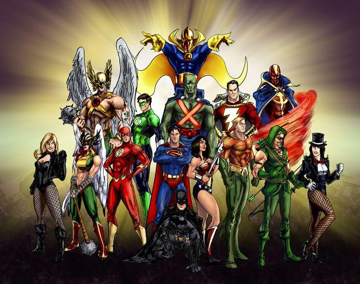 The Original Justice League! by Chris