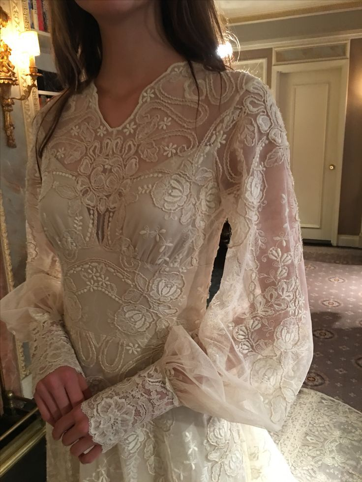 Chrysanthemum wedding dress by Claire Pettibone The Four Seasons collection
