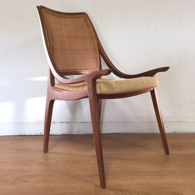 Image of Richard Thompson Cane Back Chair