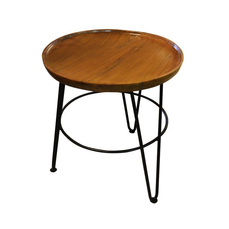 Fruit platter side table. Crafted from natural wood these wooden platters are a perfect fruit bowl.