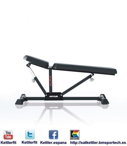 MULTIFUNCION ALPHA 7708-000 7 - Kettler es una empresa alemana dedicada a la fabricación de máquinas de fitness.  http://satkettler.bmsportech.es
