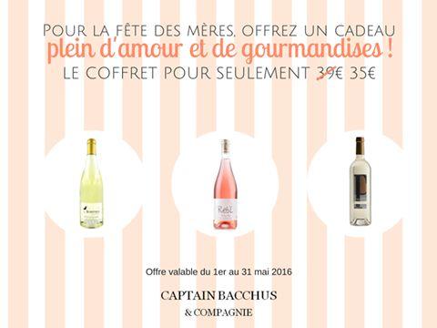 Captain Bacchus lance son coffret Fêtes des Mères 2016 Commandez le !