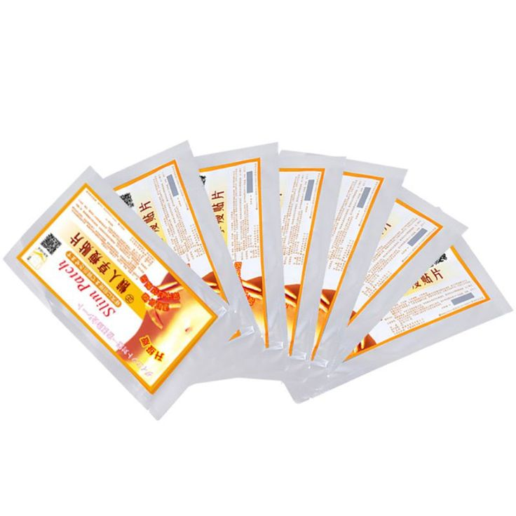 Fast Slimming Diet No-diet Weight Loss Slimming Patch YELLOW Color Slim Patches Fat Burning Health Care Patch LZH7