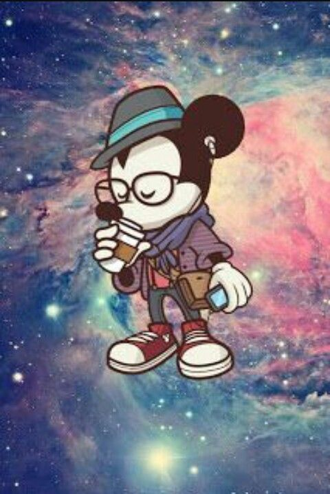 Mickey Tumblr Hipster xD