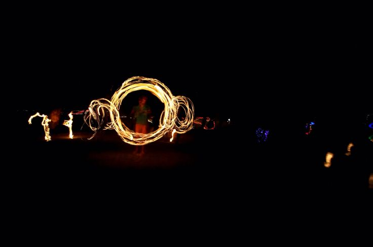 Fire Twirling - Ben