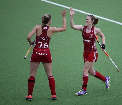June 1 2016 - Goals from Lily Owsley and Helen Richardson-Walsh handed Great Britain a 2-1 win in the first of a two match test series with the Netherlands in Amsterdam