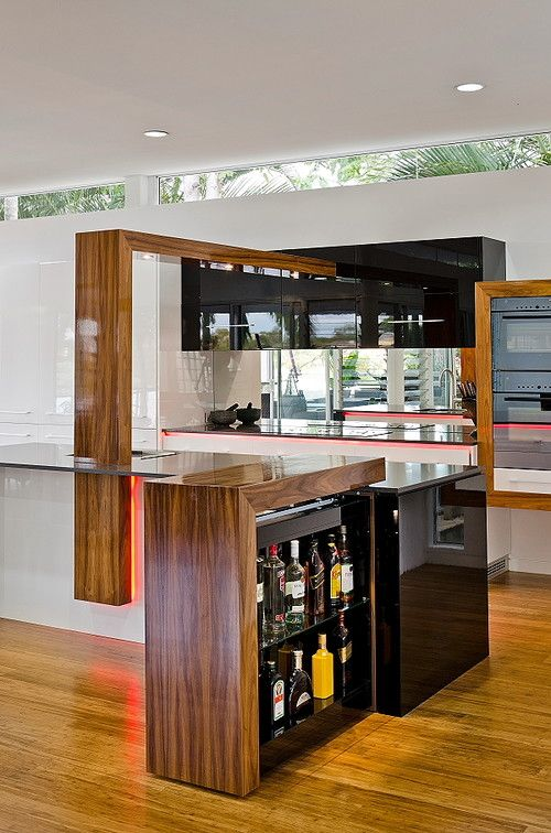 """Ceilings that make you look up. Next year will see statement-making ceilings, says Hardcastle, who designed the striking kitchen seen here. """"For a long time now, we have all forgotten to look up."""""""