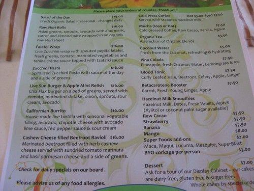 It's Rawsome Cafe #menu #raw http://www.itsrawsomecafe.com.au/downloads/746952/JAN2012+Menu+-+It%27s+Rawsome!+Cafe.pdf