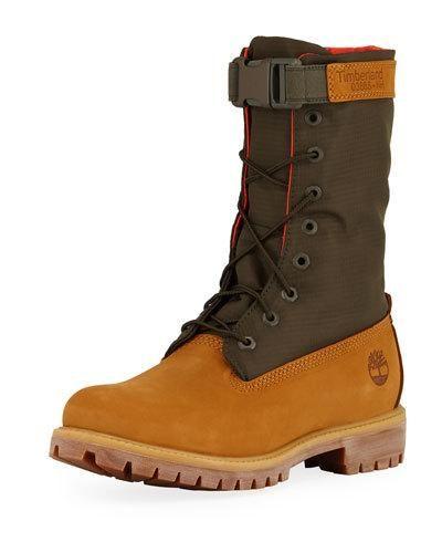36c73ceae05 Timberland Men s Premium Gaiter Boot with Canvas Trim