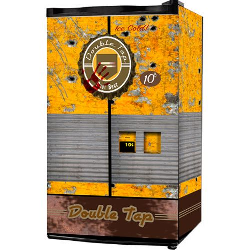 Call Of Duty Double Tap Root Beer Mini Fridge Wrap Click