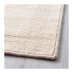 """IKEA - HAVBRO, Rug, low pile, 5 ' 7 """"x7 ' 10 """", , Long-fiber wool is extra durable, minimizes shedding and gives the rug a natural sheen.The rug is made of wool, which makes it naturally soil-repellent and durable.Marked with the Woolmark logo as proof that the rug is made of 100% pure new wool by a certified producer.The rug is made of pure new wool so it's naturally soil-repellent and very durable."""
